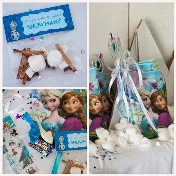 Frozen Inspired 5th Birthday Party