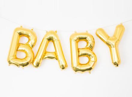 mini letter balloons