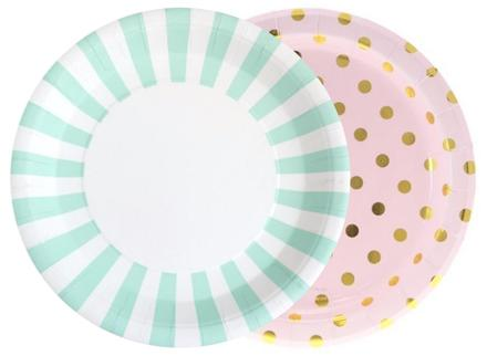 Patterned Dinner Plates  sc 1 st  Sweet Pea Parties & Paper Party Plates   Sweet Pea Parties