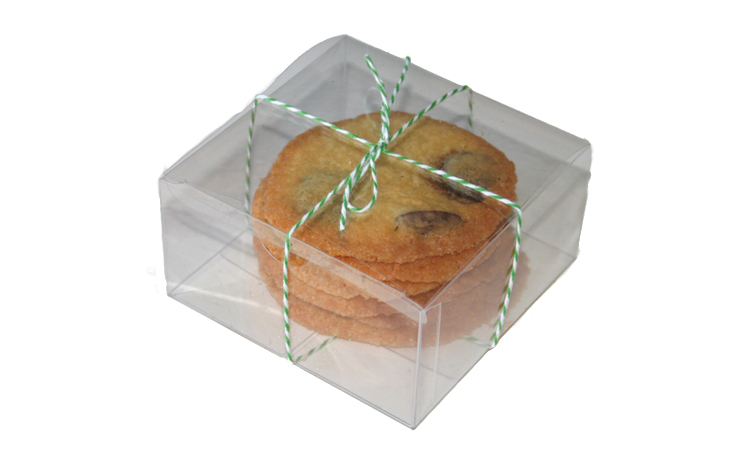 Clear Favour Cake Box - Square