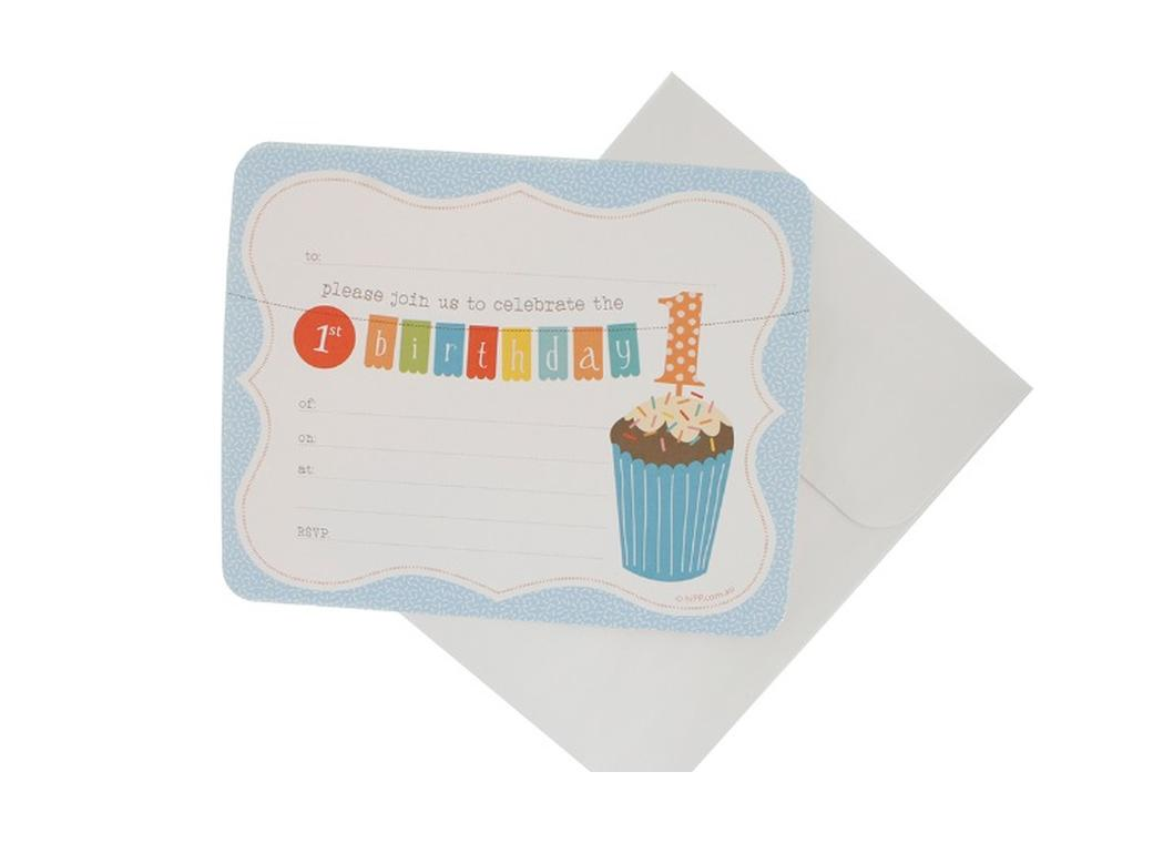 hiPP 1st Birthday Boy Invitations
