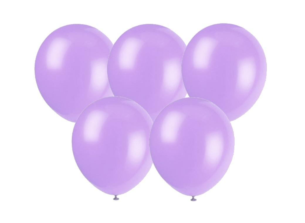25PK Balloons - Lavender