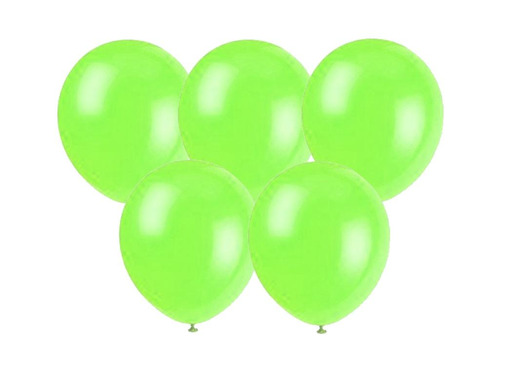 25PK Balloons - Lime Green