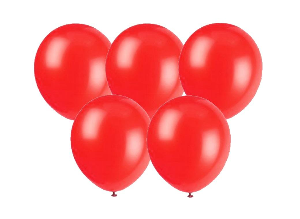 Red Balloons 25pk