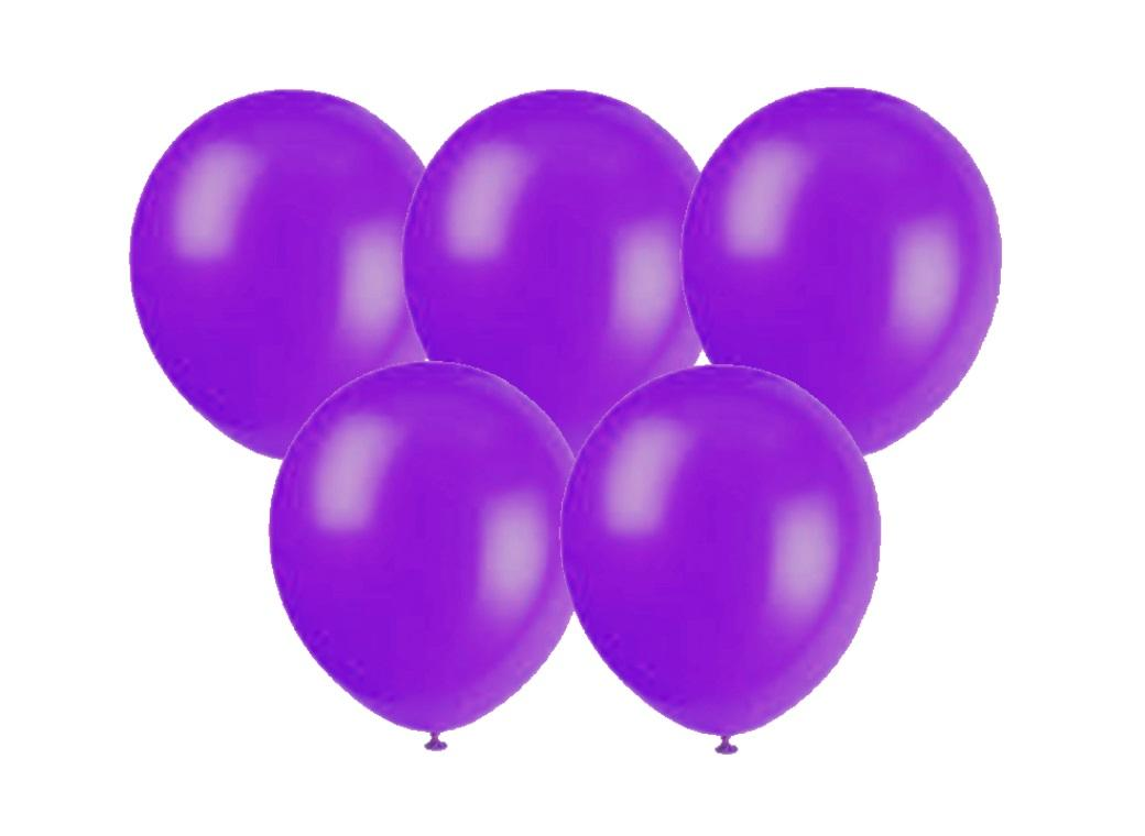 25PK Balloons - Purple