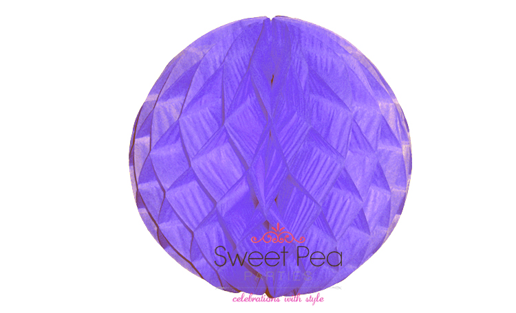 Tissue Honeycomb Ball 30cm - Lilac