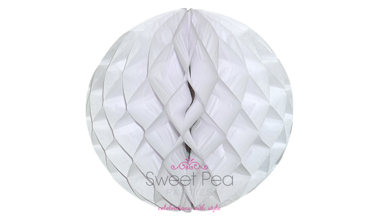 Tissue Honeycomb Ball 30cm - White