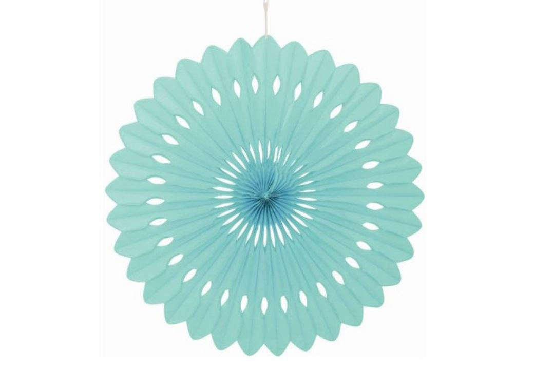 Decorative Fan 40cm - Mint