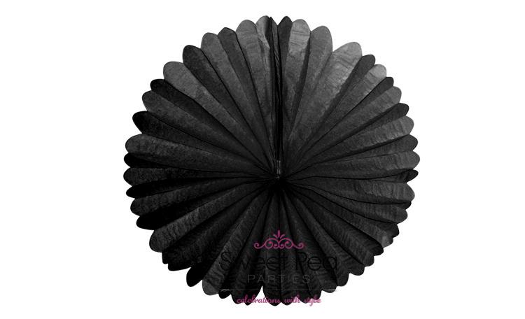 """Paper Fan 16"""" - Black"""