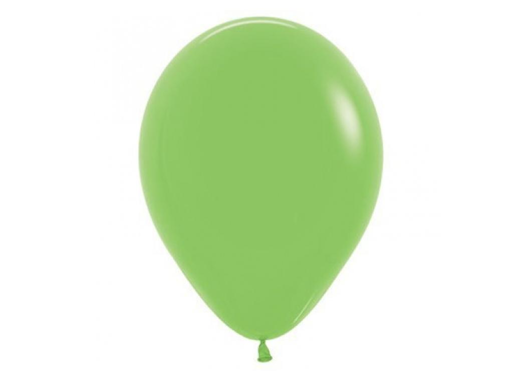 40cm Single Balloon - Lime Green