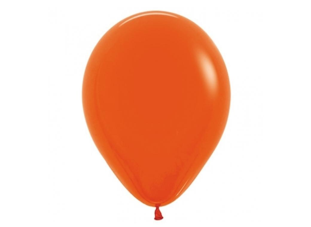 40cm Single Balloon - Orange