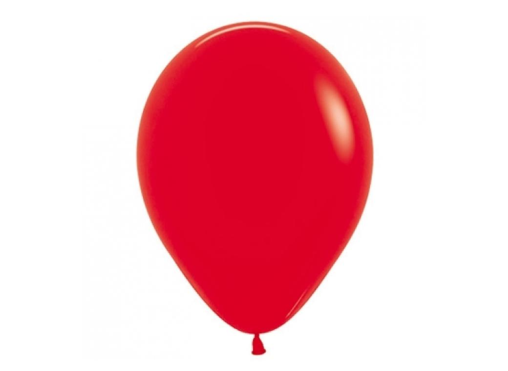 40cm Single Balloon - Red