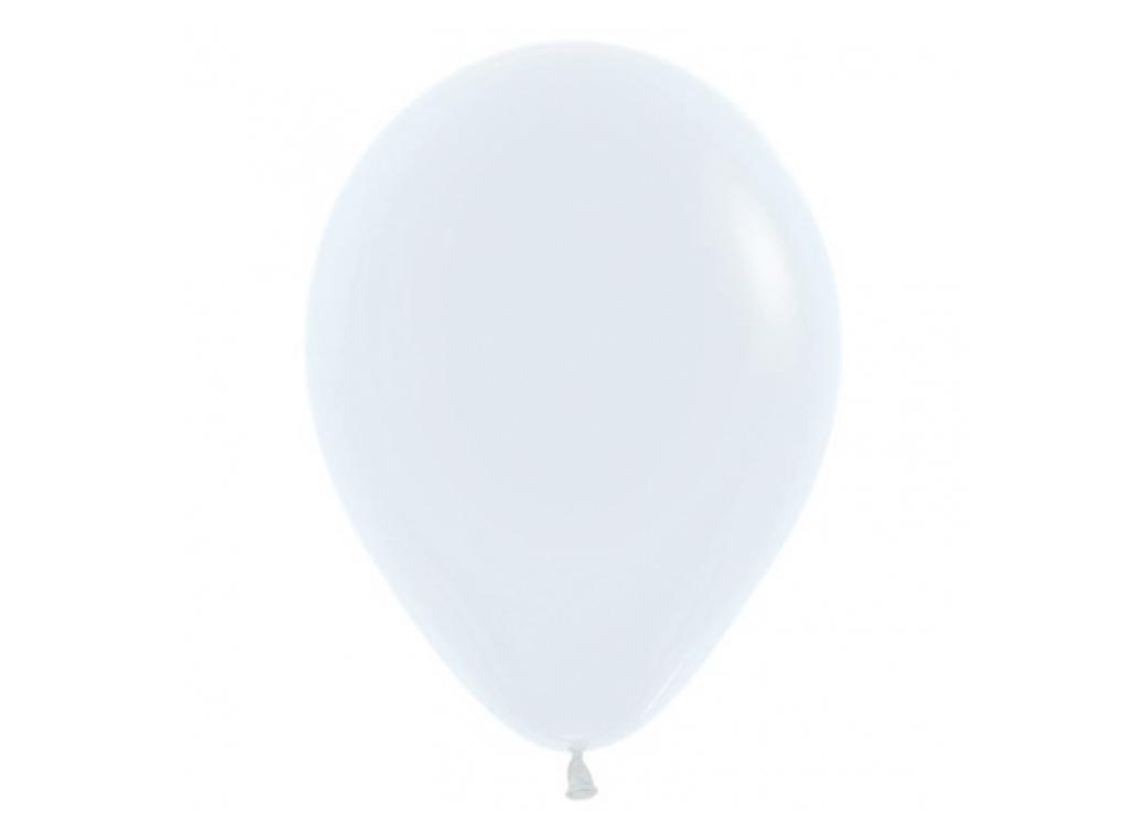 40cm Single Balloon - White
