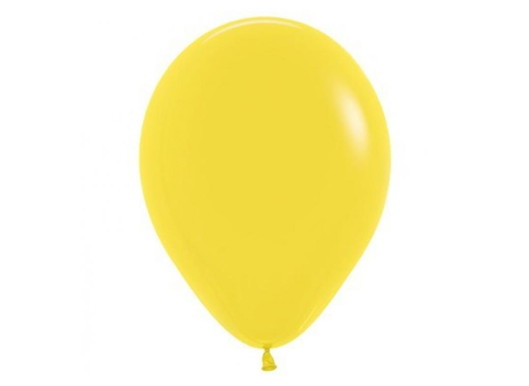 40cm Single Balloon - Yellow
