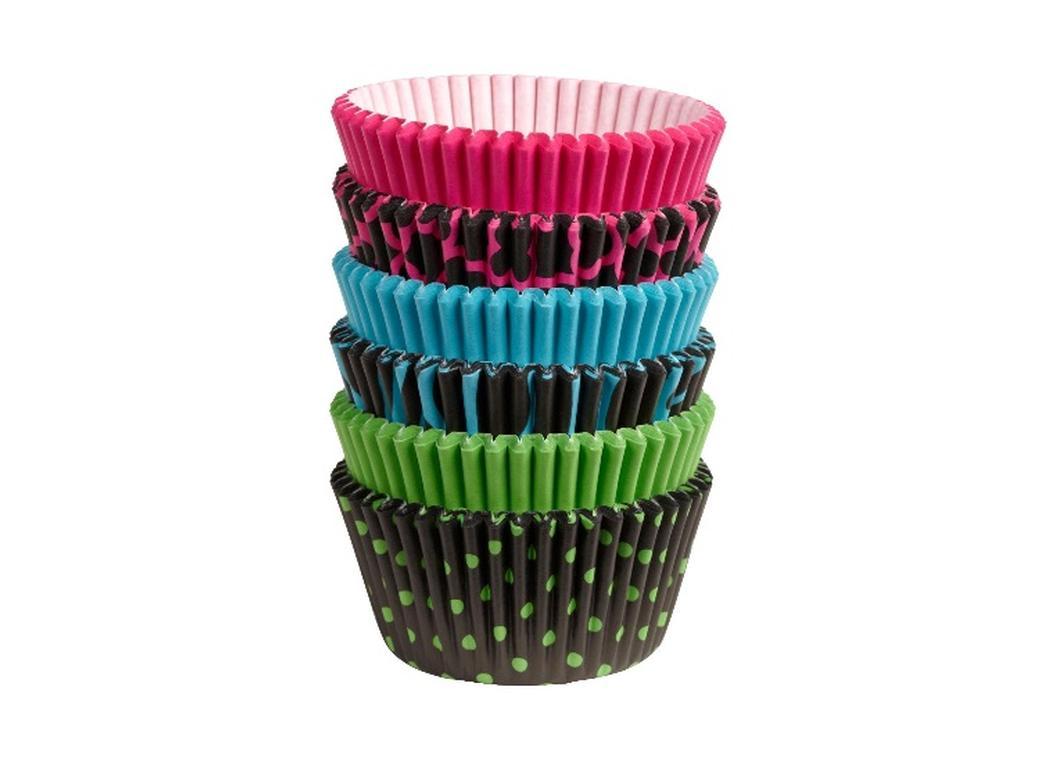 Wilton Neon Darks Cupcake Cases - 150pk