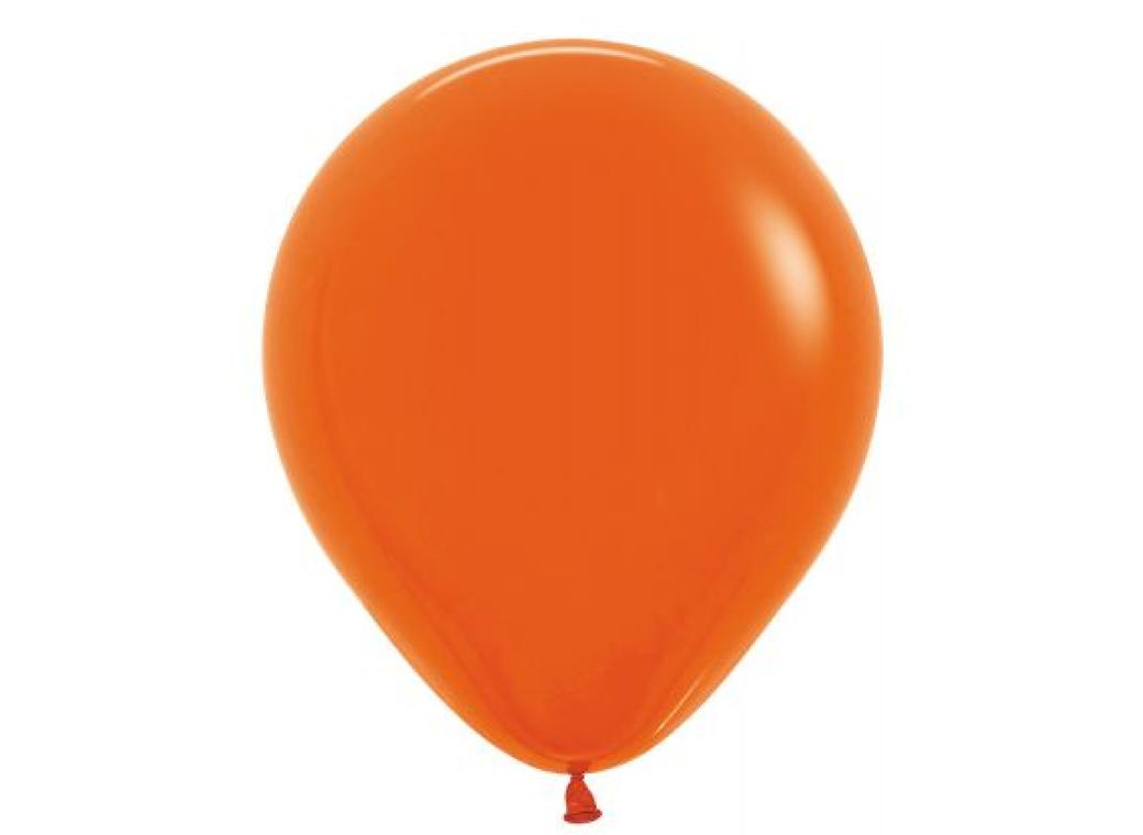 45cm Balloon - Orange