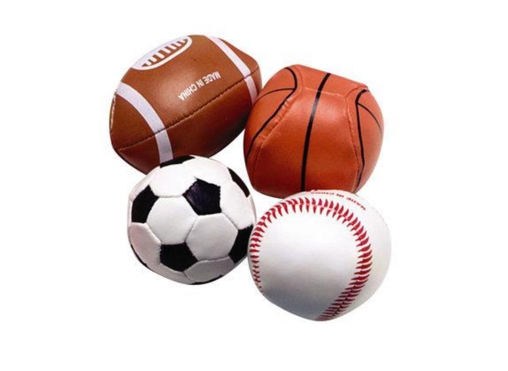 Soft Sports Balls - 4pk