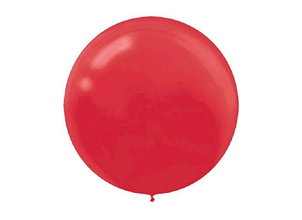 60cm Balloon - Apple Red