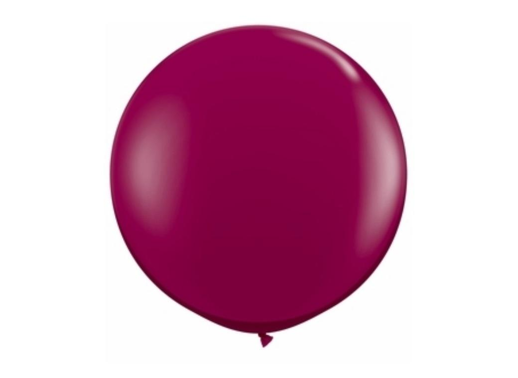 50cm Balloon - Burgundy Jewel