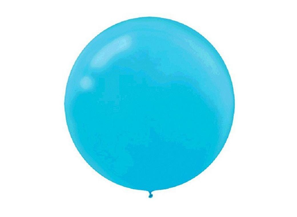 60cm Balloon - Caribbean Blue