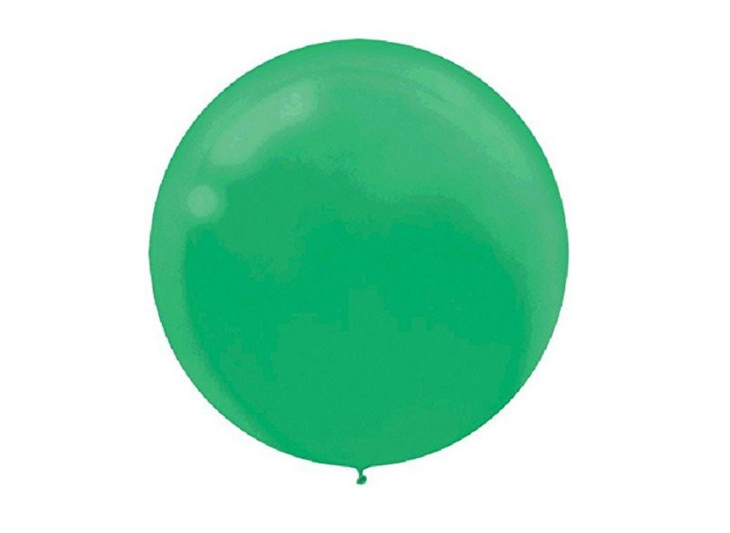 60cm Balloon - Festive Green