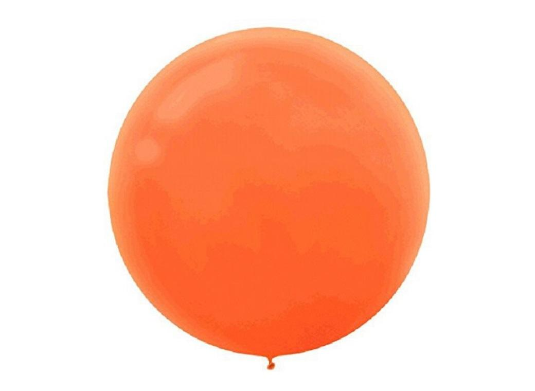 60cm Balloon - Orange Peel