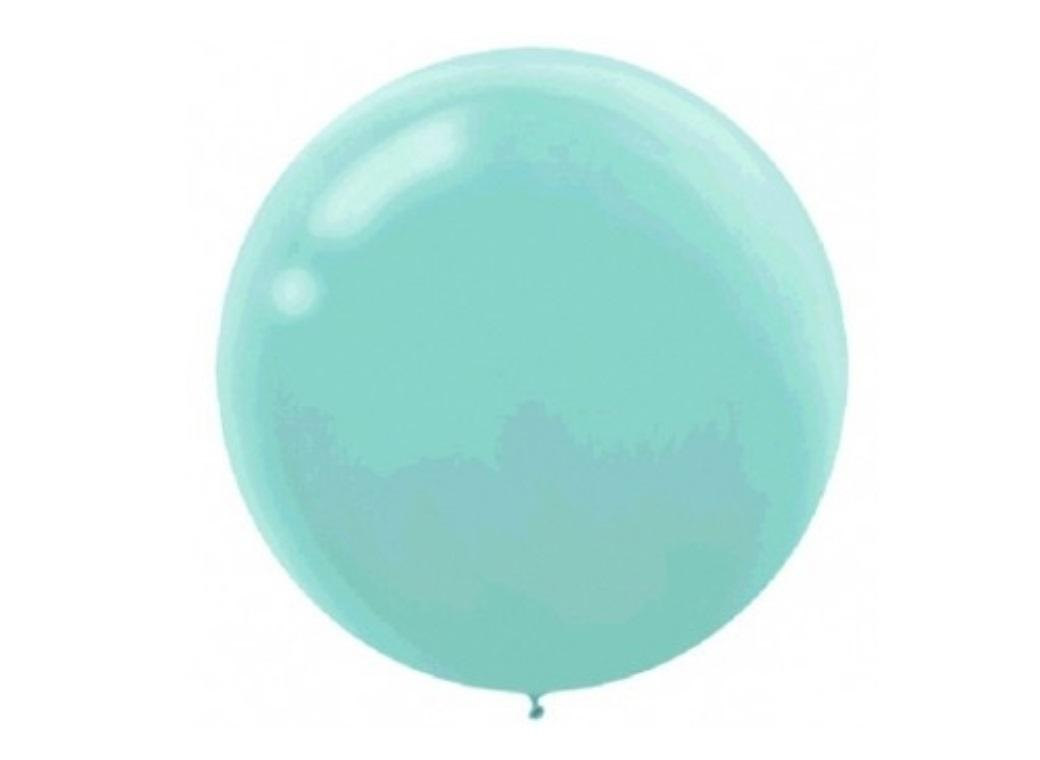 60cm Balloon - Robins Egg Blue