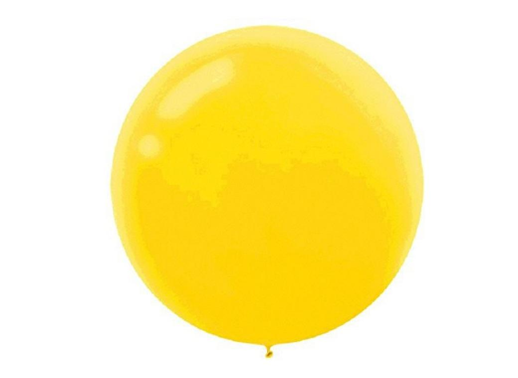 60cm Balloon - Sunshine Yellow