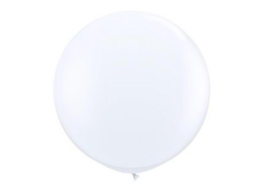 60cm Balloon - White