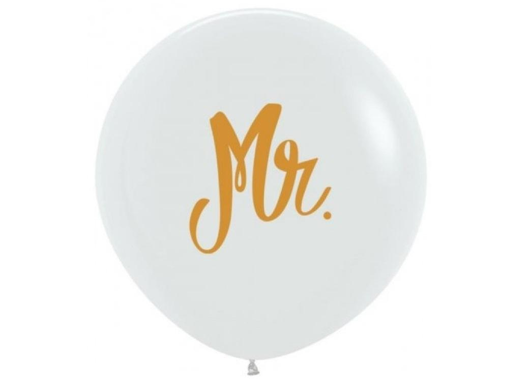 60cm Balloon - Gold Mr