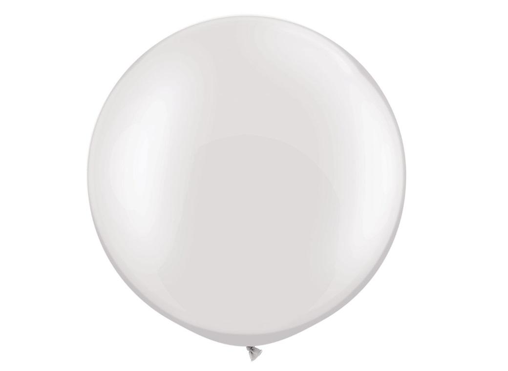 Pearl White Balloon 75cm
