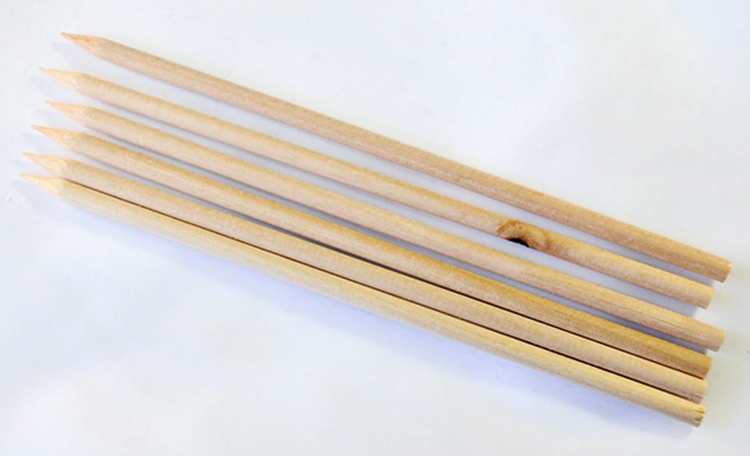 Wooden Skewer 200mm - Cake Stacking/Pillar Support
