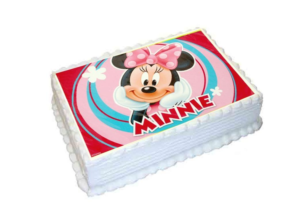 Edible Icing Image - Minnie Mouse A4
