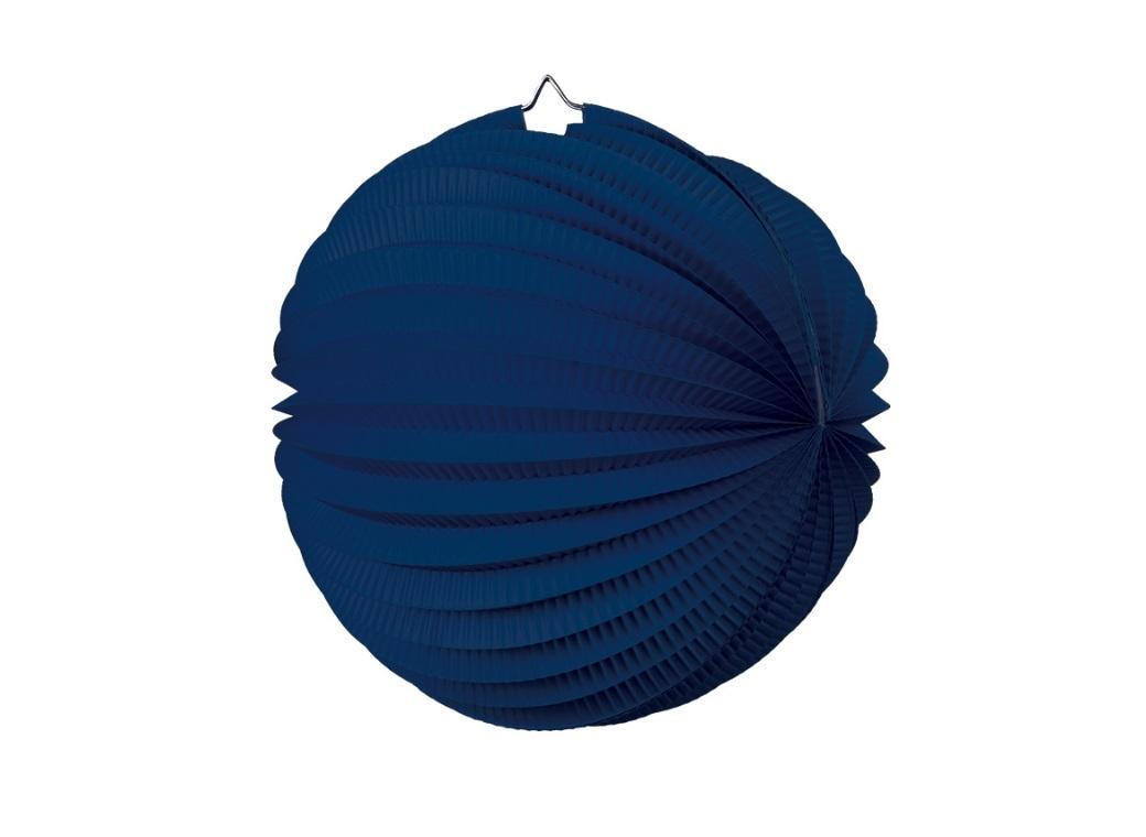 Accordion Lantern 25cm - Navy Blue