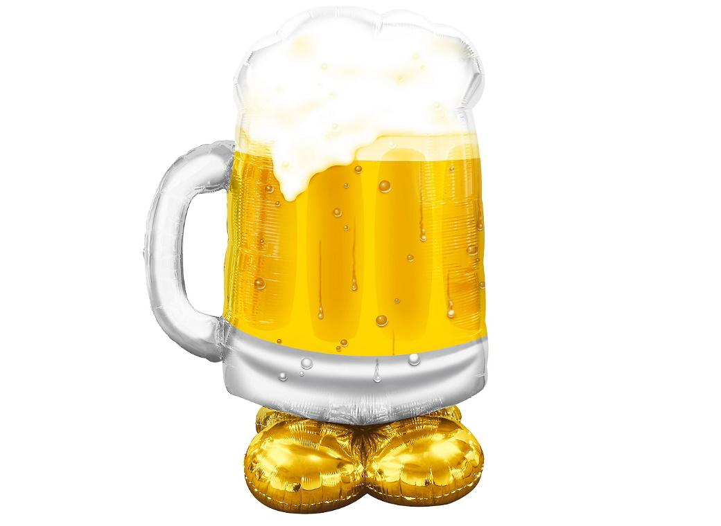 AirLoonz Beer Mug Foil Balloon