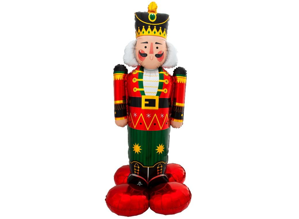AirLoonz Christmas Nutcracker Foil Balloon