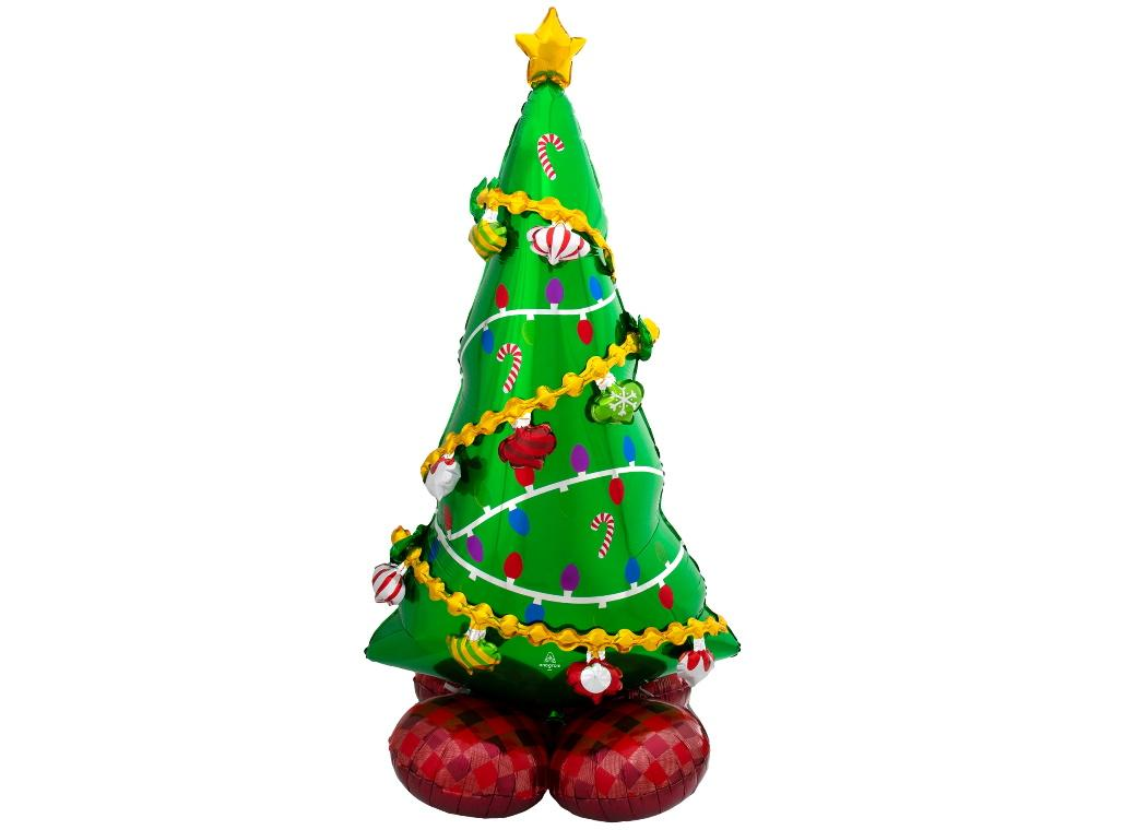 AirLoonz Christmas Tree Foil Balloon