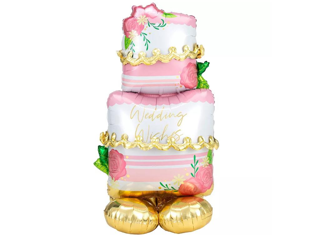 AirLoonz Wedding Cake Foil Balloon
