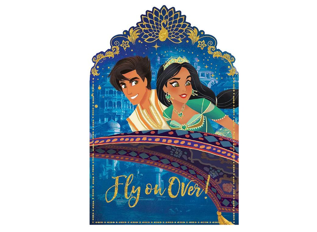Aladdin Invitations 8pk