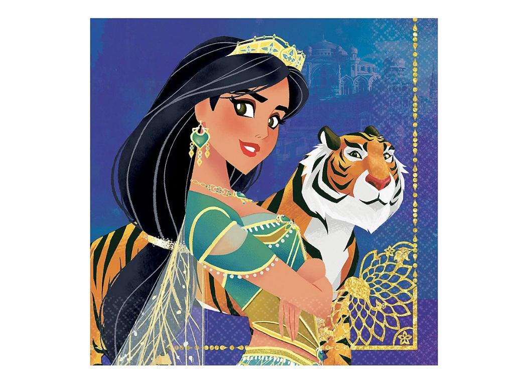 Aladdin Lunch Napkins 16pk