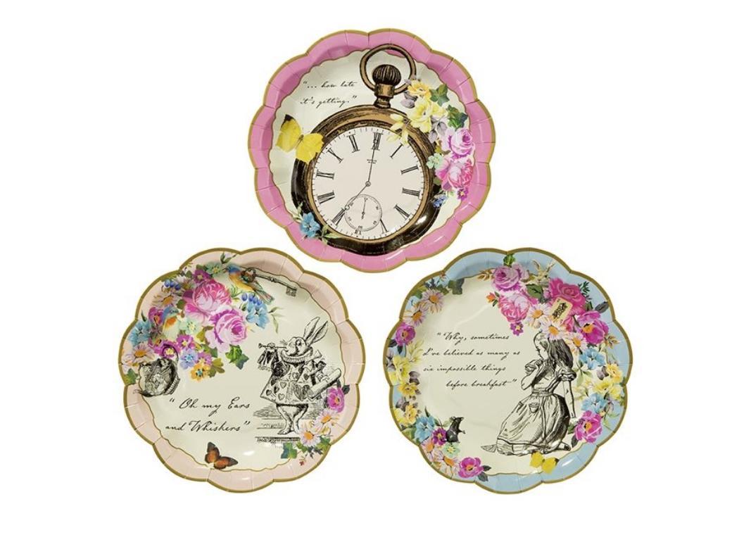 Truly Alice Dainty Plates