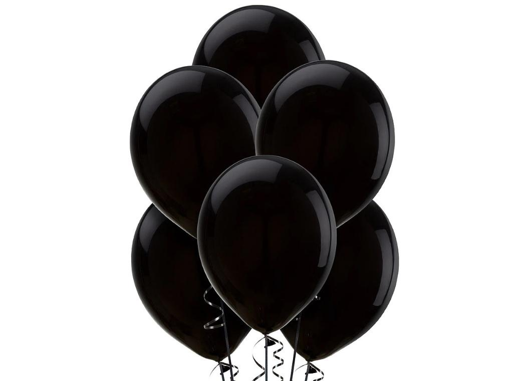Value Balloons 15pk - Black