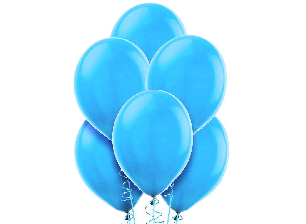 Value Balloons 15pk - Caribbean Blue