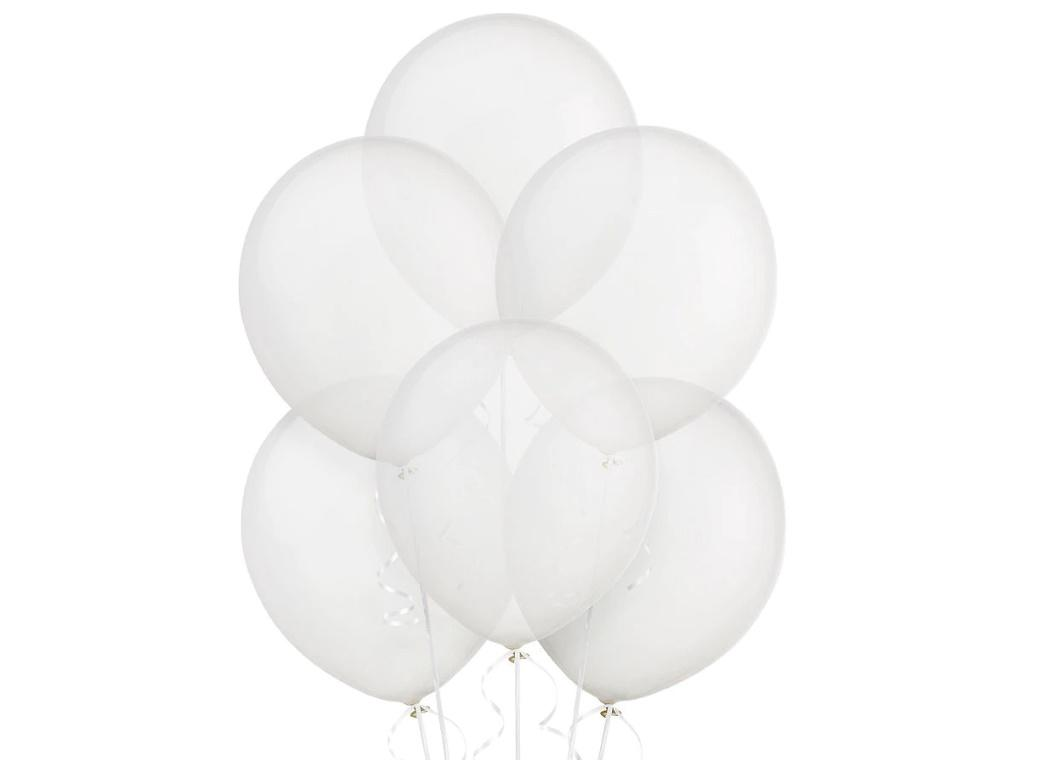 Value Balloons 15pk - Clear
