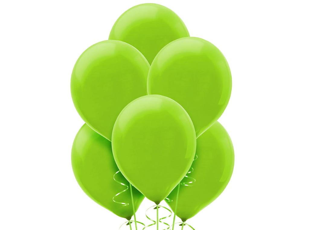 Value Balloons 15pk - Kiwi Green