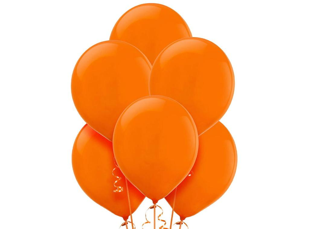 Value Balloons 15pk - Orange