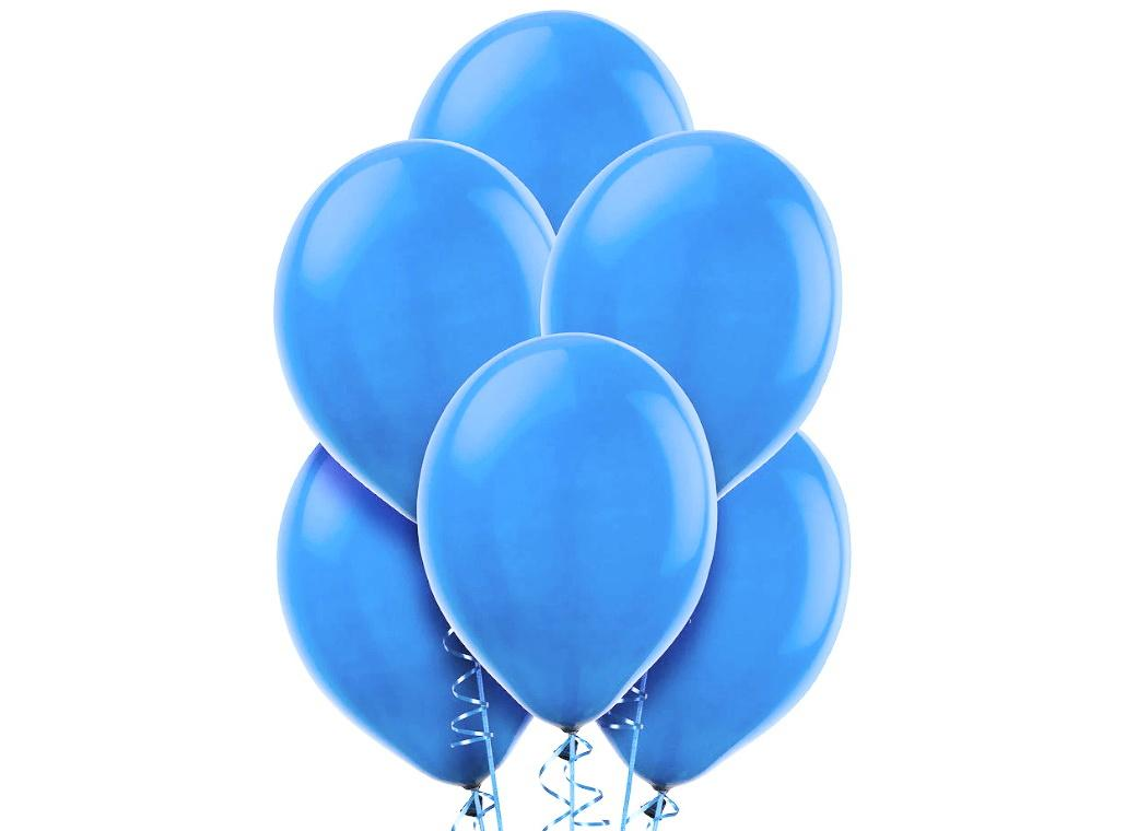 Value Balloons 15pk - Powder Blue