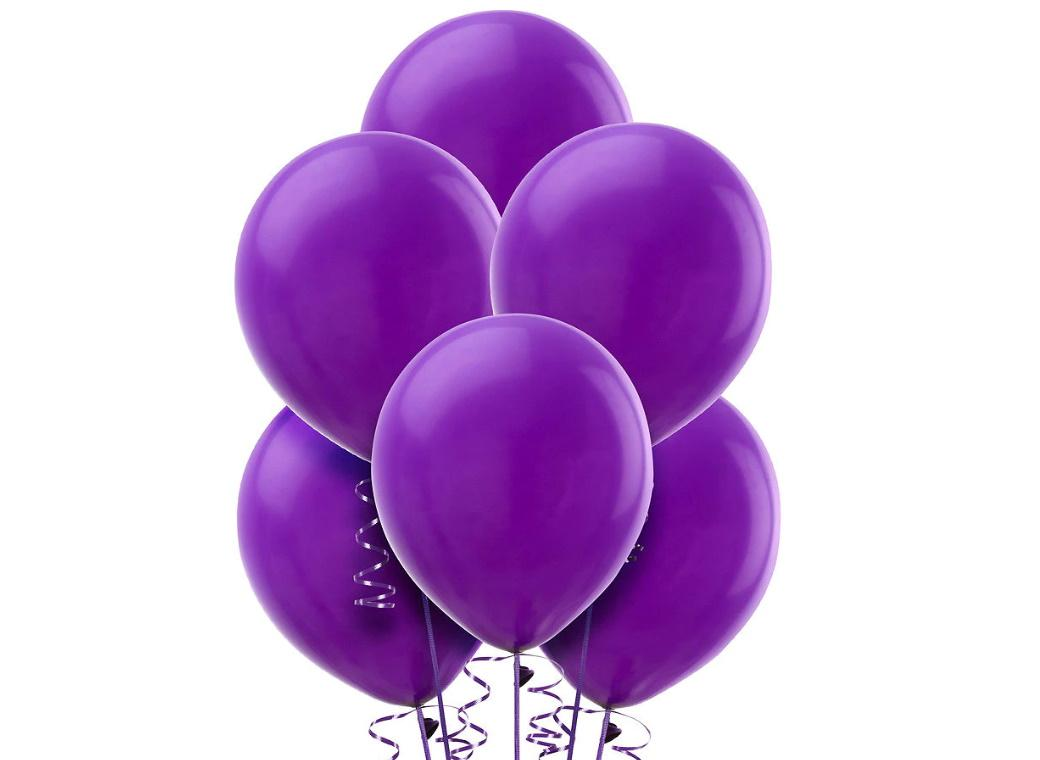 Value Balloons 15pk - Purple