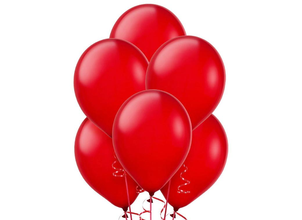 Value Balloons 15pk - Red