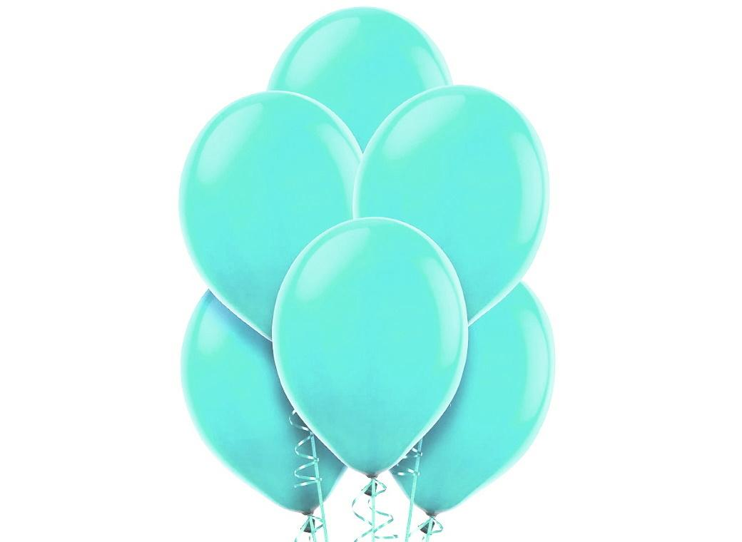 Value Balloons 15pk - Robins Egg Blue